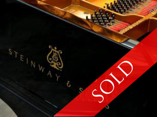 Steinway & Sons Hamburg, model B, year built 1969