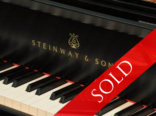 Steinway & Sons, model B, year built 1998